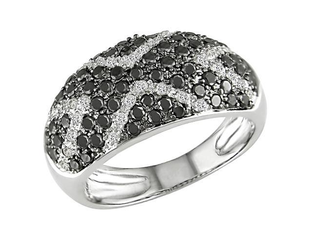 1ct Diamond Ring in Silver