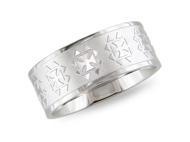 Stainless steel Ring with engraving