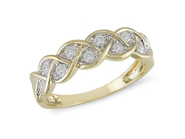 1/4 ct Diamond Ring in 10k Yellow Gold, I2-I3, G-H-I