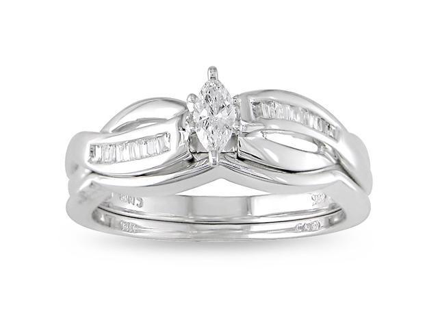 14k Gold 1/4ct TDW Diamond Engagement Ring (H-I, I2-I3)