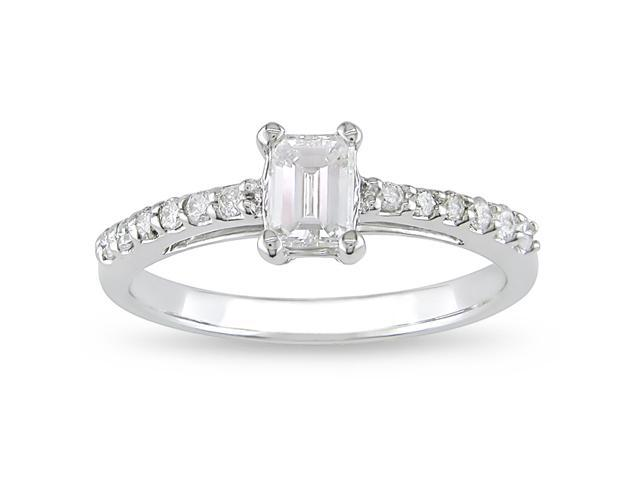 14k Gold 5/8ct TDW Diamond Engagement Ring