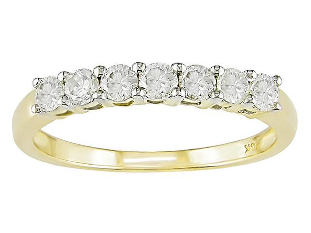 14KY Eternity Diamond Ring 1/2ct TDW (I1-I2)