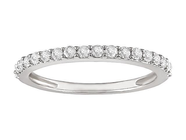 14k White Gold 1/4ct TDW Diamond Ring (IJ, I2)