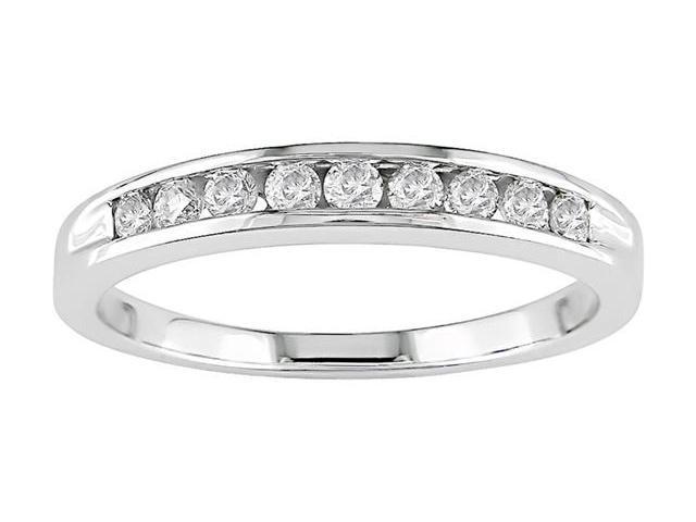 14k Gold 1/4ct TDW Round Diamond Anniversary Ring (H-I-J, I2)