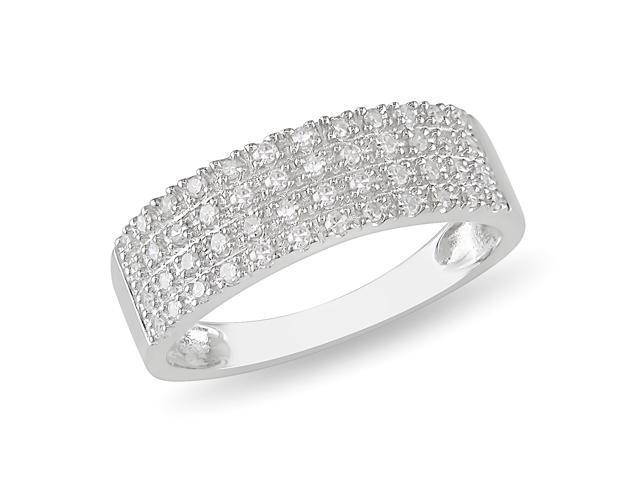 1/4ct Diamond TW Fashion Ring Silver