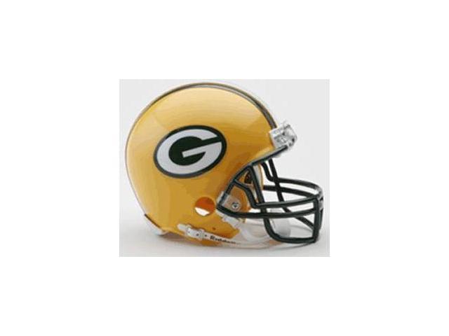 Creative Sports RD-PACKERS-MR Green Bay Packers Riddell Mini Football Helmet