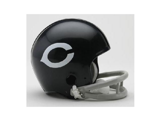 Creative Sports RD-BEARSTB-2Bar57-72 Chicago Bears 1957-1972 2-Bar Throwback Riddell Mini Football Helmet