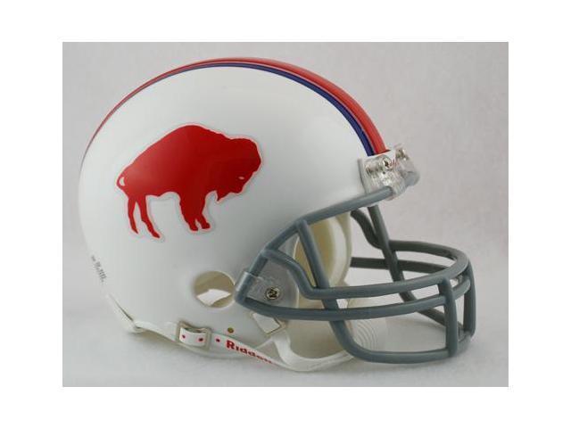 Creative Sports RD-BILLSTB-MR65-73 Buffalo Bills 1965-1973 Throwback Riddell Mini Football Helmet