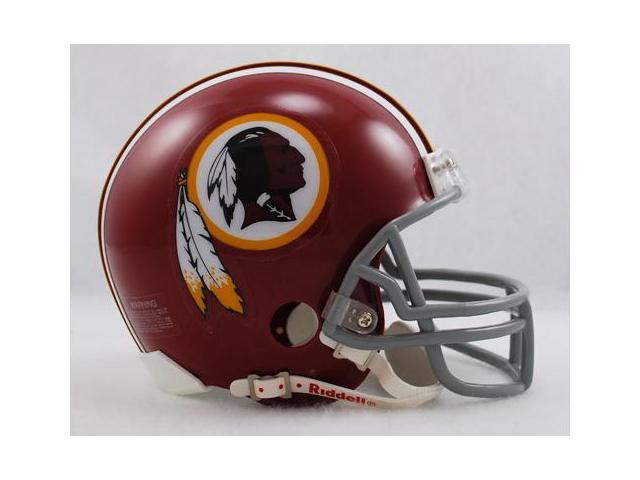 Creative Sports RD-REDSKINSTB-72-77 Washington Redskins 1972-1977 Throwback Riddell Mini Football Helmet