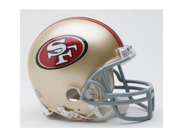 Creative Sports RD-SF49ers-MR San Francisco 49ers Riddell Mini Football Helmet