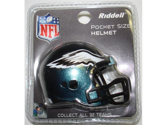 Creative Sports RPR-EAGLES Philadelphia Eagles Riddell Revolution Pocket Pro Football Helmet