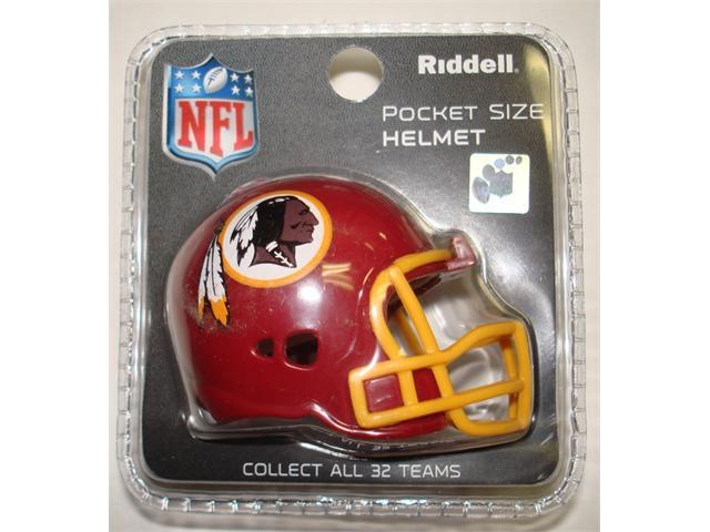 Creative Sports RPR-REDSKINS Washington Redskins Riddell Revolution Pocket Pro Football Helmet