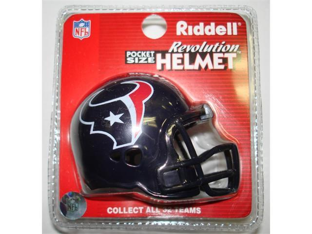 Creative Sports RPR-TEXANS Houston Texans Riddell Revolution Pocket Pro Football Helmet