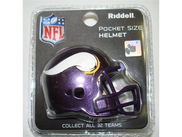 Creative Sports RPR-VIKINGS Minnesota Vikings Riddell Revolution Pocket Pro Football Helmet