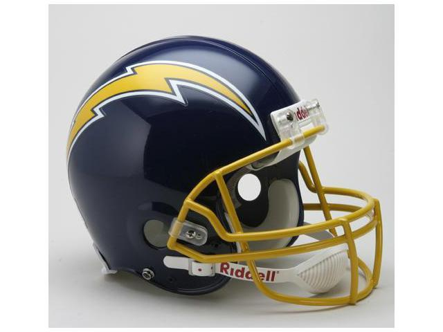 Creative Sports RD-CHARGERSTB-A74-87 San Diego Chargers 1974-1987 Throwback Riddell Full Size Authentic Proline Football Helmet