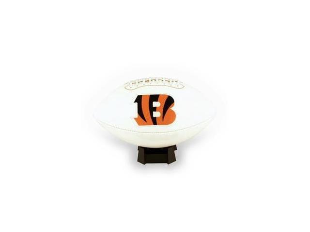 Creative Sports FB-BENGALS-Signature Cincinnati Bengals Embroidered Logo Signature Series Football