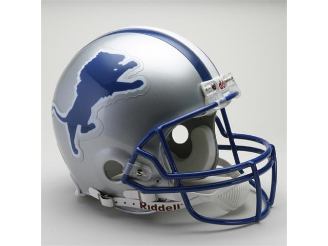 Creative Sports RD-LIONSTB-A83-02 Detroit Lions 1983-2002 Throwback Riddell Full Size Authentic Proline Football Helmet