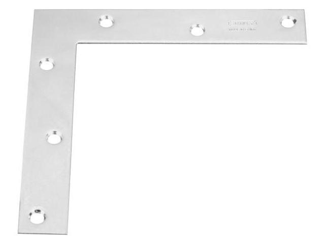 Stanley Hardware 25 Count 6in. X 1in. Flat Corner Braces  204990 - Pack of 20