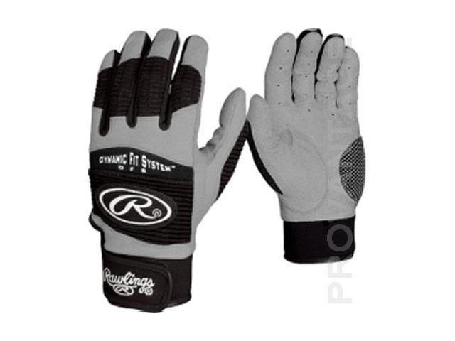 Rawlings BGP950T-B-88 Batting Glove Adult - Small - Black