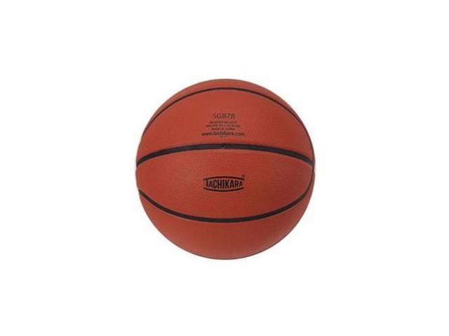 Tachikara SGB7R Indoor-Outdoor Rubber 29.5 Basketball - Brown