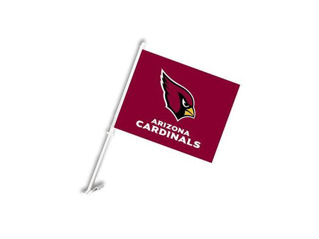 Fremont Die 98922 Arizona Cardinals- Car Flag W-Wall Brackett