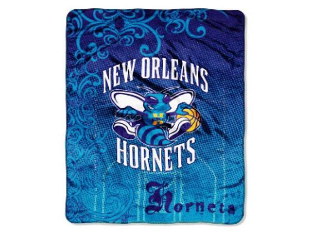 New Orleans Hornets 50 in. x 60 in. Micro Raschel Throw Blanket