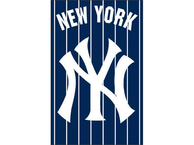 Party Animal, Inc. AFNYY Applique Banner Flag - YANKEES