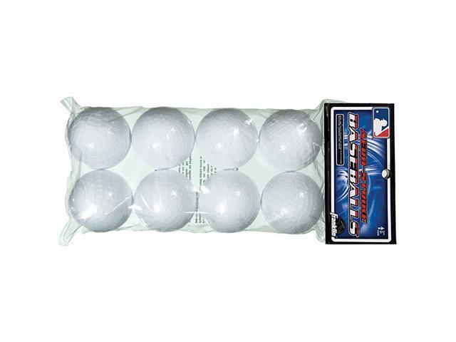 Franklin 14938 MLB Plastic Baseballs - Pack of 8