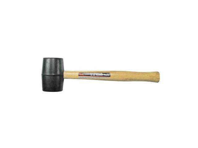 Pony 018-61-182 32 Oz Rubber Mallet Woodhdl