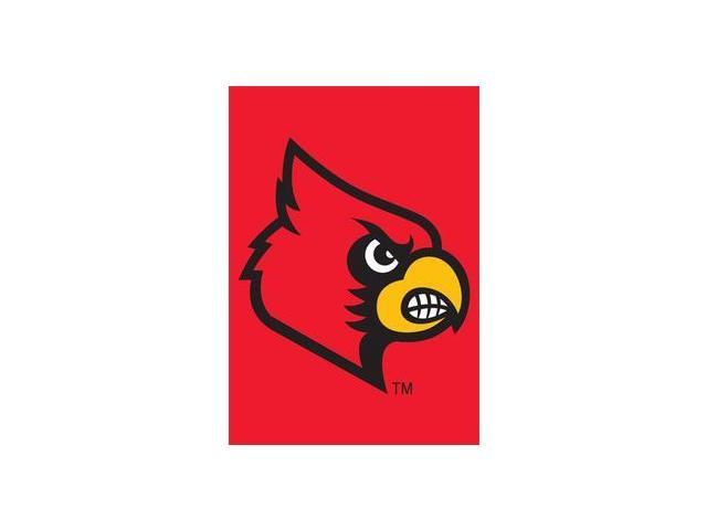 Party Animal GFLOU Louisville Cardinals Garden - Window Flag