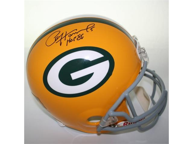 Victory Collectibles VIC-000130-30311 Paul Hornung Autographed Throwback Green Bay Replica Helmet