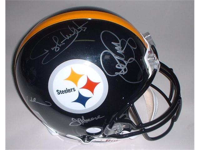 Victory Collectibles VIC-000155-30130 Steel Curtain Autographed Pittsburgh Authentic Helmet