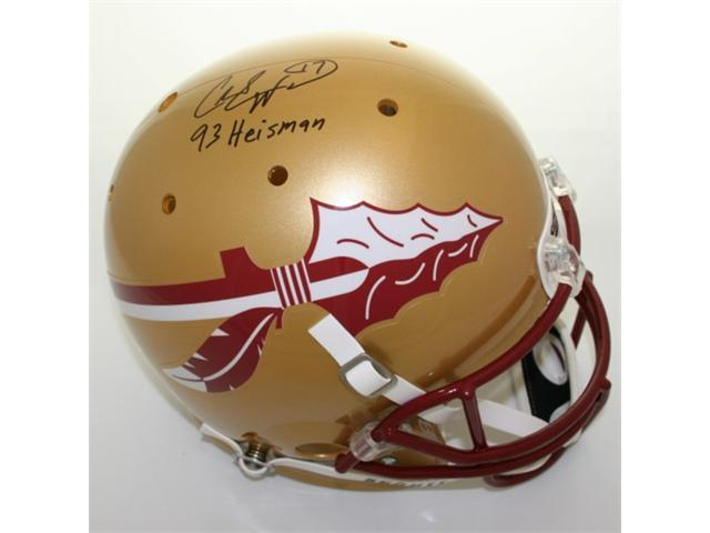 Victory Collectibles VIC-000185-7100-009 Charlie Ward Autographed Florida State Replica Helmet