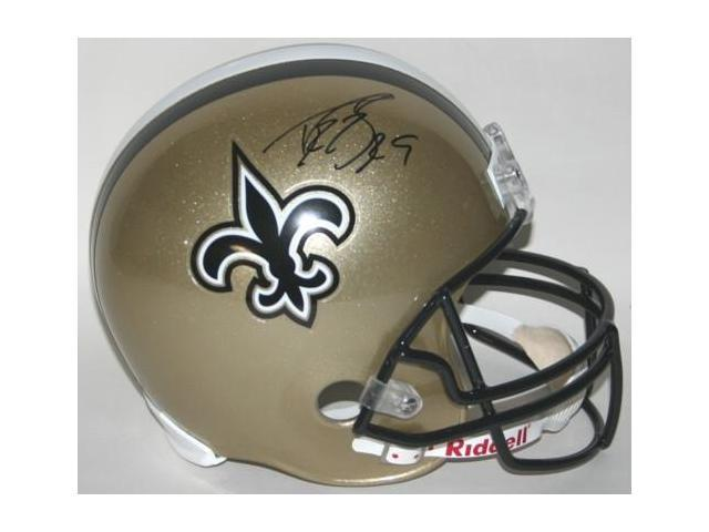 Victory Collectibles VIC-000059-30523 Drew Brees Autographed New Orleans Replica Helmet