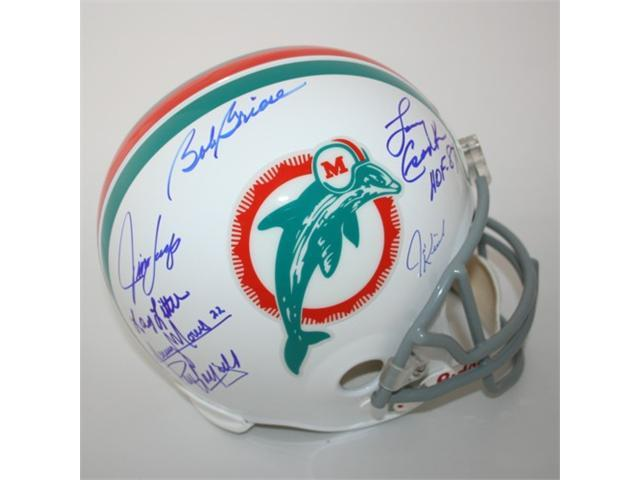 Victory Collectibles VIC-000213-30320 Miami Dolphins 1972 Team Signed Replica Helmet