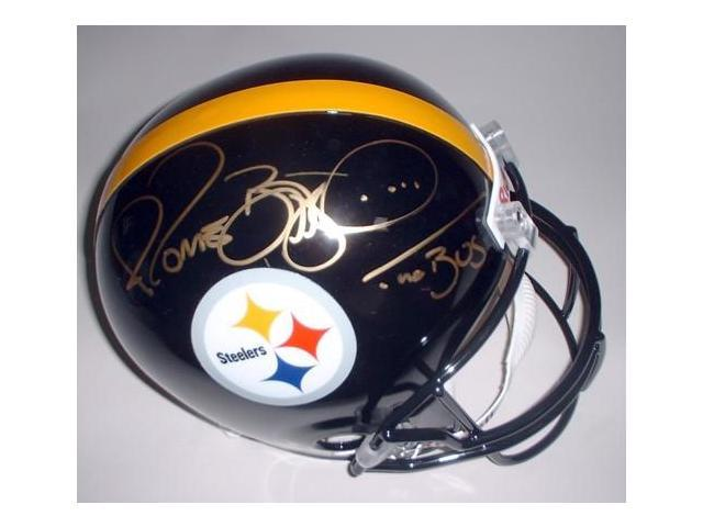 Victory Collectibles VIC-000088-30530 Jerome Bettis Autographed Pittsburgh Replica Helmet