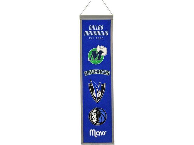 Winning Streak Sports 48009 Dallas Mavericks Heritage Banner