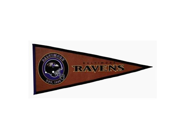 Winning Streak Sports 61702 Baltimore Ravens Pigskin Pennant