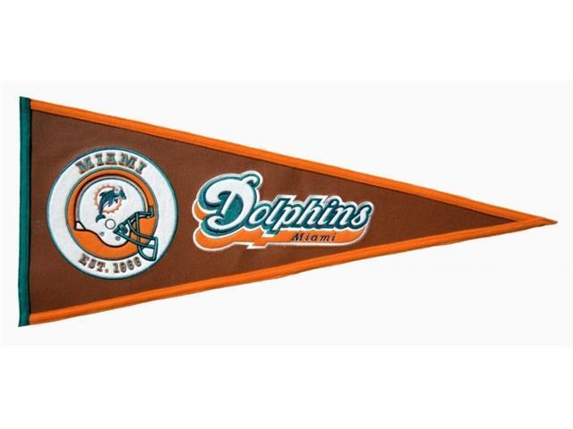Winning Streak Sports 61716 Miami Dolphins Pigskin Pennant