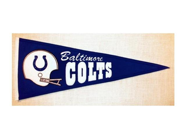 Winning Streak Sports Pennants 61131 Baltimore Colts Throwback