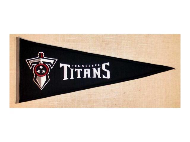 Winning Streak Sports Pennants 61301 Tennessee Titans Throwback