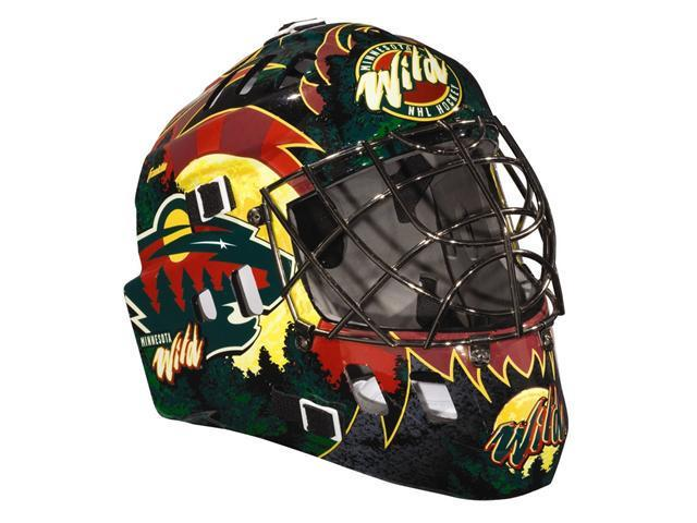 Franklin Sports 12082F33 NHL youth size ages 5-9 goalie mask- Wild