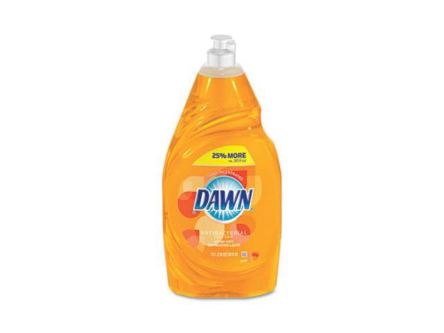 Procter & Gamble 42906 Dishwashing Liquid, Antibacterial, Orange, 38 oz Bottle