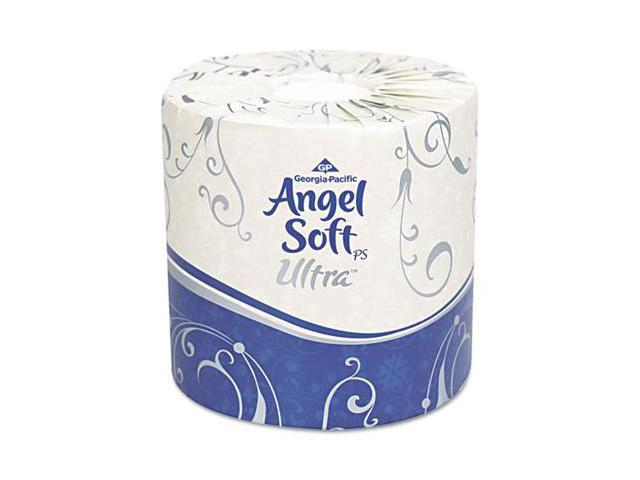 Georgia Pacific 16560 Angel Soft ps Ultra 2-Ply Premium Bathroom Tissue- White- 60 Rolls/Carton