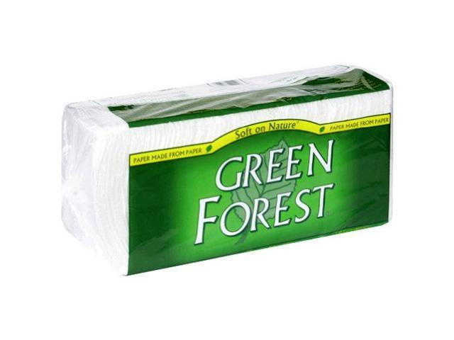 Green Forest Luncheon Napkins, 1 Ply, 250 Cnt, 250-Count (Pack of 12)