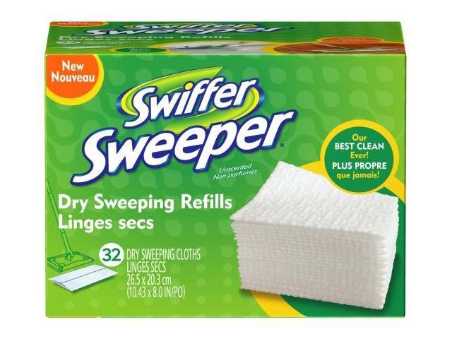 Procter & Gamble 32 Count Swiffer Sweeper Dry Sweeping Refills  31822 - Pack of 6
