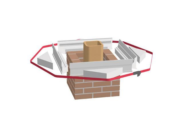 Ahrens Chimney Technique  Inc. 3700562 12 Inch  Suppport Triangles For Victorian Crown Forms  Box Of 4