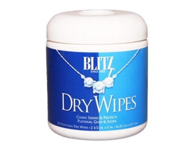 Blitz 2017 Dry Wipes Jewelry Cleaner