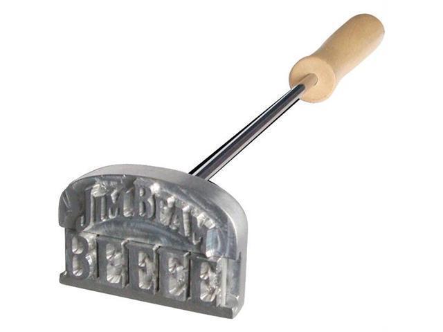 JIM BEAM JB0115 Branding Iron
