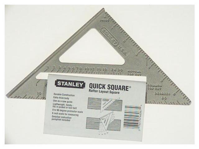 Stanley Hand Tools Quick Square Layout Tool  46-067